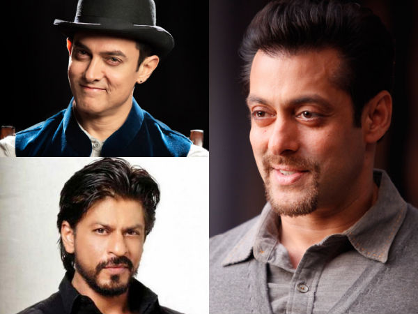 Salman Khan On Three Khans Film Together