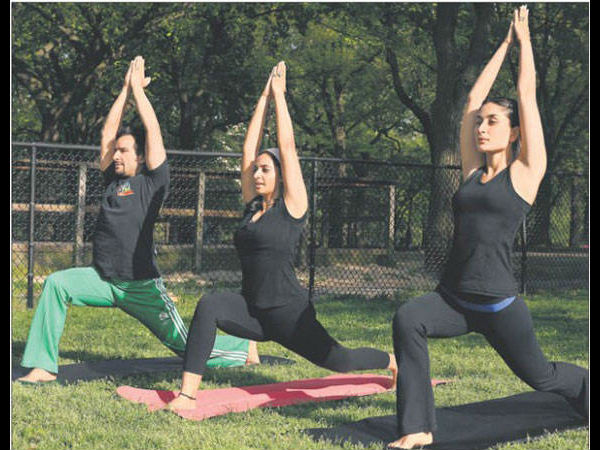 Bollywood Actress Yoga International Yoga Day