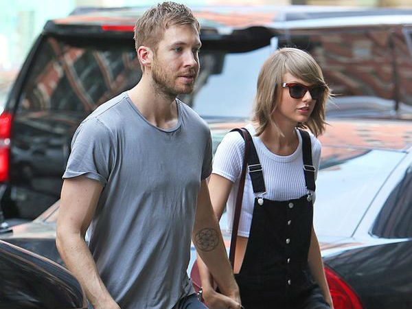 Calvin Harris Praises Taylor Swift, Calls Her 'My Girl' After Apple Stand