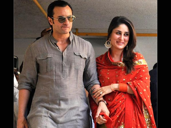 Saif With Bebo