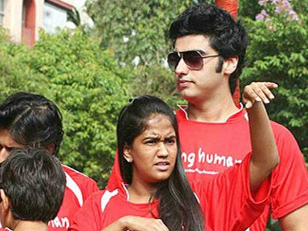 arjun kapoor and arpita khan relationship