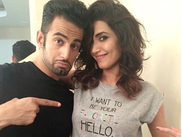 Upen Patel And Karishma Tanna Sign Film With Edd Liu!