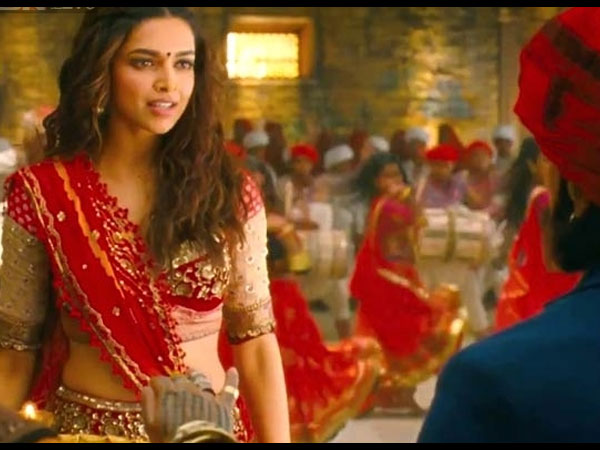 Deepika In Nagada Sang Dhol Song