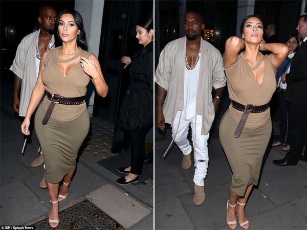 Kim Kardashian Is Putting On Pregnancy Weight