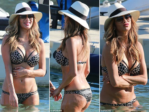 Nicole Scherzinger Is Celebrating Birthday In Bikini At Greece