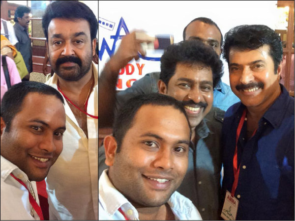 Aju Varghese With His Superstars