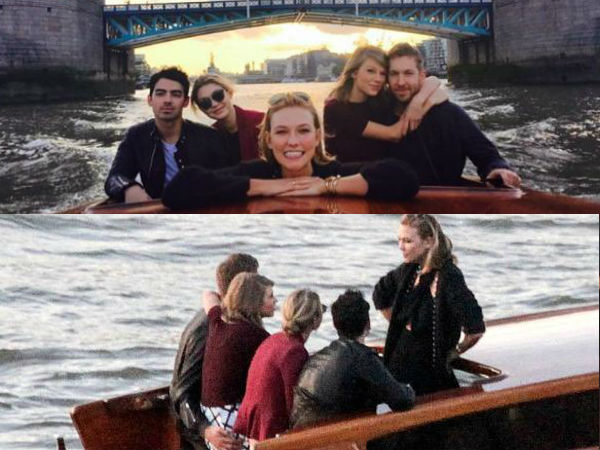 Taylor Swift, Calvin Harris' Double Date With Gigi & Joe Jonas