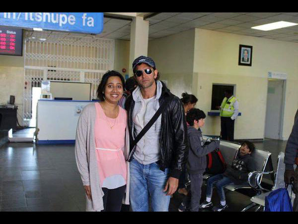 Hrithik In South Africa