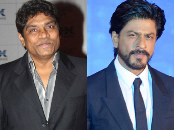 Shahrukh Khan About Johnny Lever