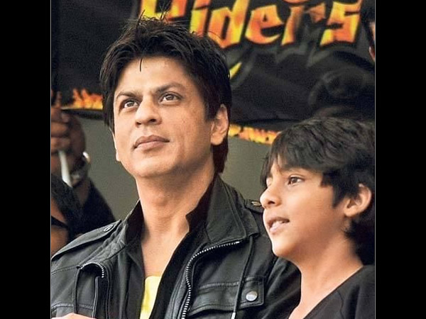 Aryan And Shahrukh Khan