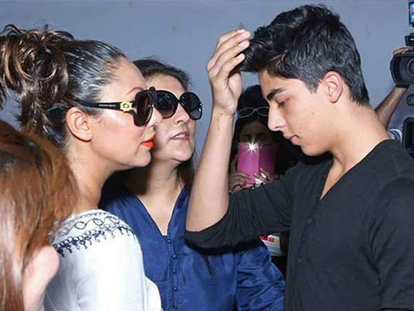 Aryan With Gauri