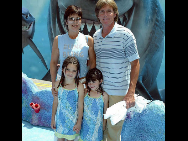 Kylie Jenner Shares A Throwback Family Pic With Bruce, Kris & Kendall