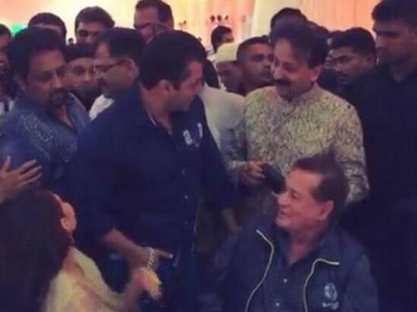 Salman Partying
