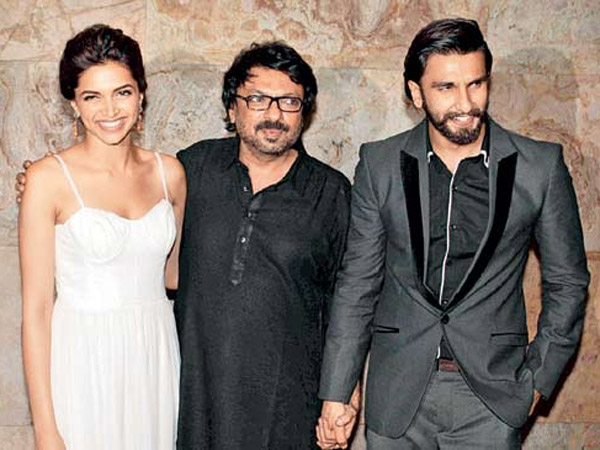 Deepika, Sanjay And Ranveer