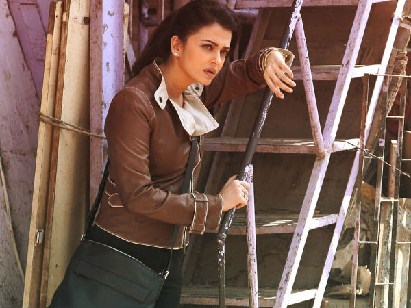 Aishwarya's Tough Look