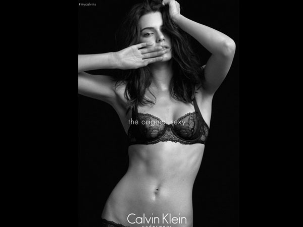 Kendall Jenner Goes Topless, Flaunts Curves For Calvin Klein's New Campaign