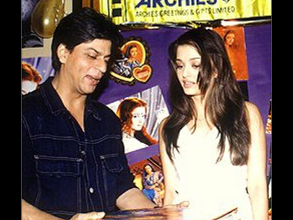 Shahrukh And Aish