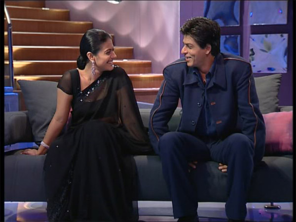 Shahrukh Khan With Kajol