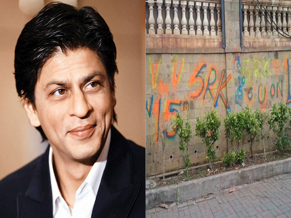 Graffiti Outside Mannat