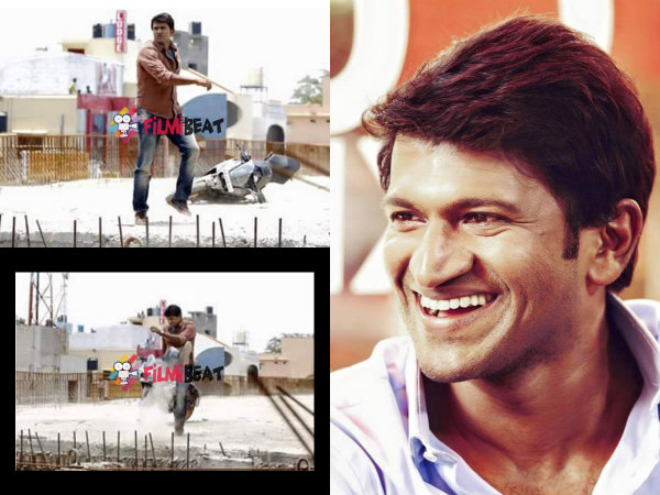 EXCLUSIVE: Check Electrifying Pics Of Puneeth From 'Chakravyuha'!