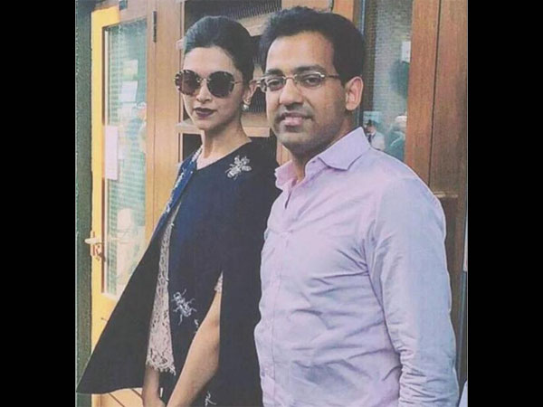 Deepika With Fan