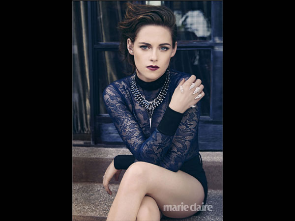 Kristen Stewart Is Marie Claire's August Cover Girl, Talks Hair, Starting Over & More