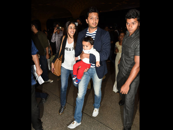 Riteish-Riaan On The Way To IIFA