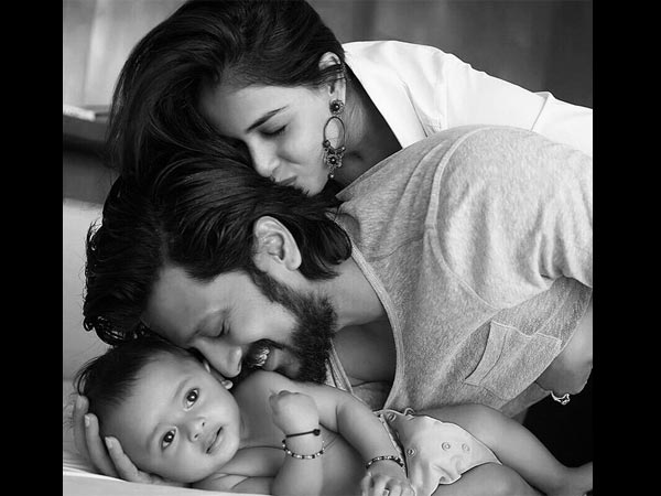 Riteish With His Family
