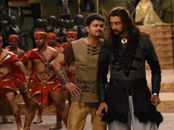 Vijay Movies Stills Stills From Vijay's Puli