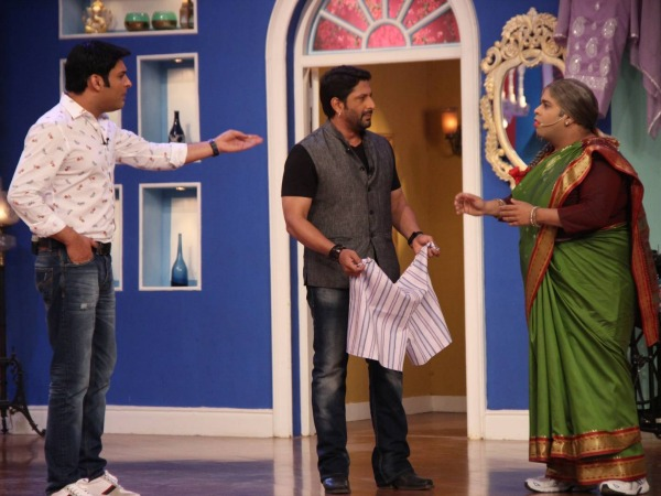 OMG! Arshad Warsi Hosted An Episode Of Comedy Nights With Kapil!