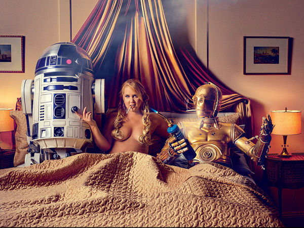 Amy Schumer's Star Wars Themed Bold Shoot For GQ
