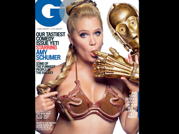 Amy Schumer's Star Wars Themed Bold Shoot With Droids For GQ