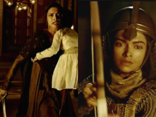 Deepika's Look As A Fierce Warrior