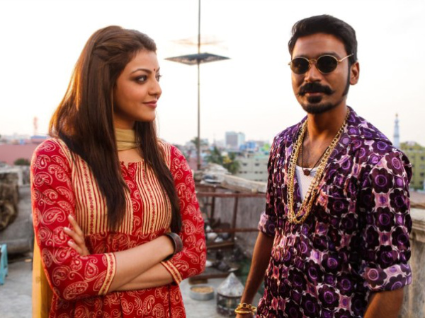 Dhanush And Kajal