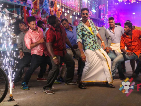 Maari Set In Chennai