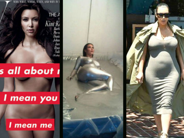 Kim Kardashian Naked Magazine | Kim Kardashian Bare