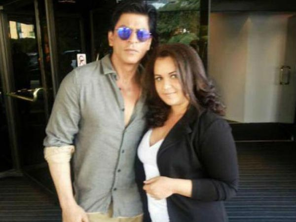 SRK With Fan