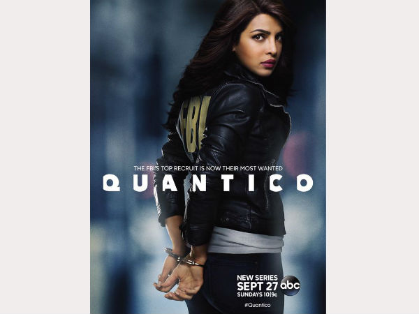 Priyanka Chopra Shares New Poster of 'Quantico'