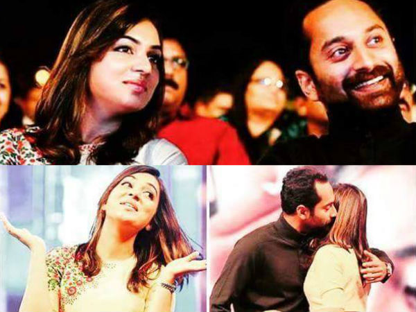 Nazriya's Take On Fahadh