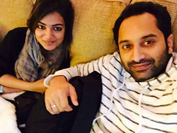 What Fahadh Loves About Nazriya?