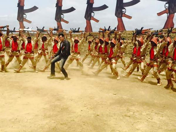 Darshan's Introduction Song Shooting!