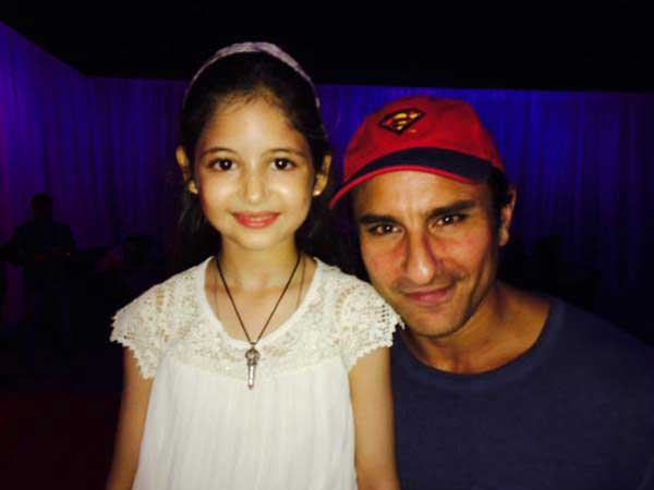 Harshaali With Saif Ali Khan.
