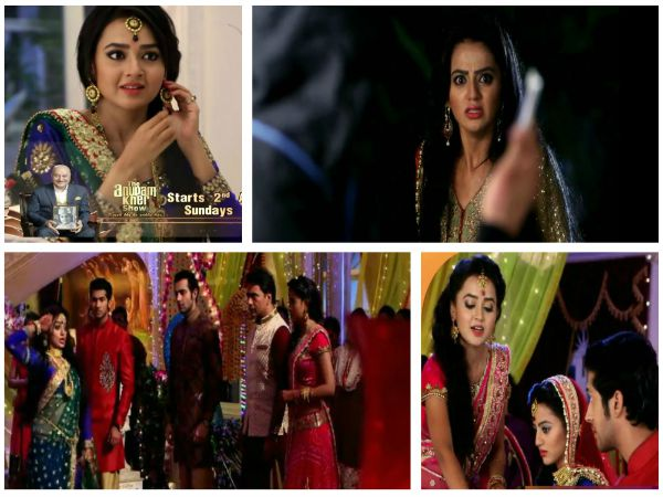 Swaragini: Ragini's Big Drama On Swara-Lakshya's Sangeet; Sanskar To Feel Sorry For Swara!