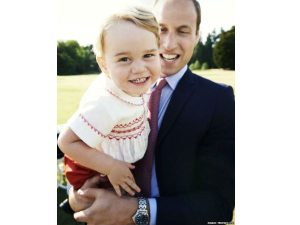 Prince George's Official Photo Released To Celebrate His 2nd Birthday