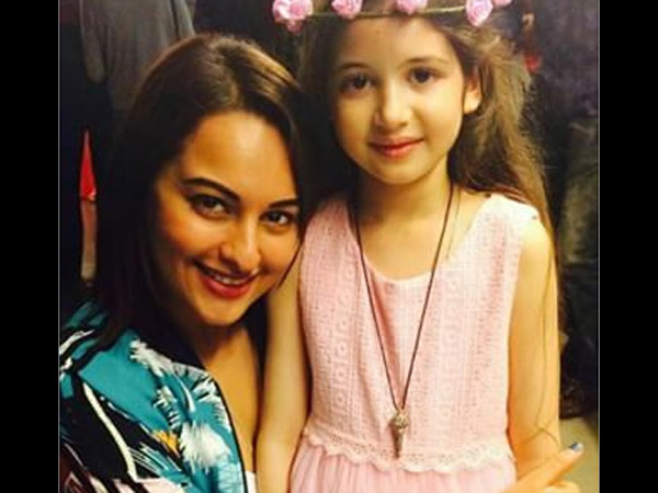 Harshaali With Sonakshi