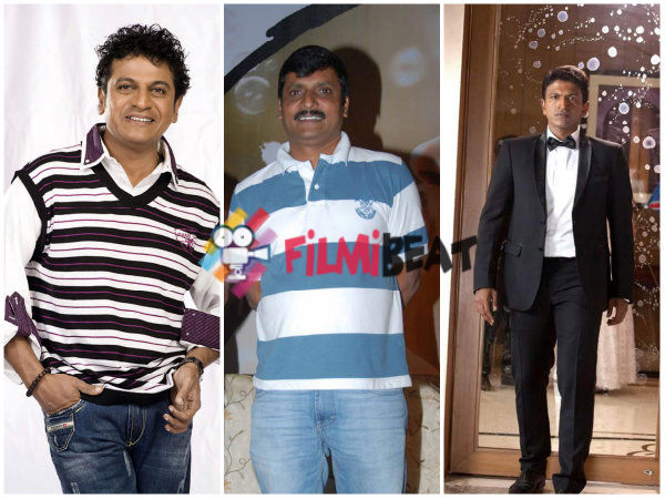 Jayanna Confirms To Producer Brothers Shivarajkumar And Puneeth Rajkumar!
