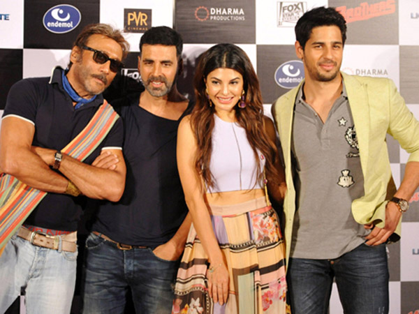 Akshay-Sidharth With Jacqueline And Jackie Shroff