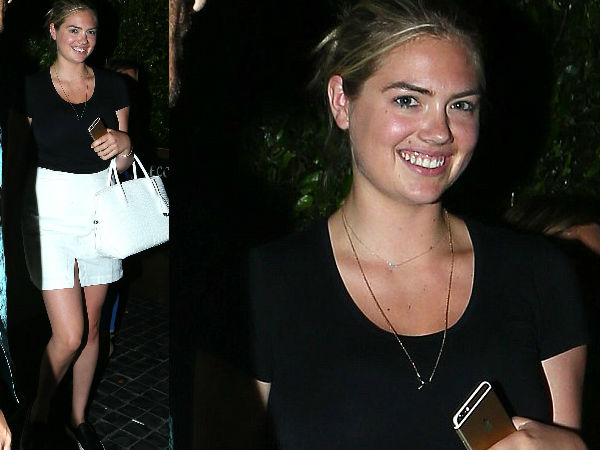 Kate Upton Goes De-Glam After Bootylicious Sunday Treat!