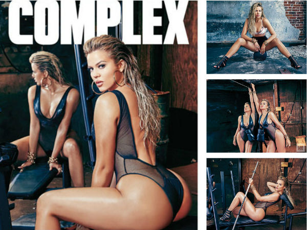 Khloe Kardashian Gives Back Haters, Shares Untouched Complex Shoot Pic