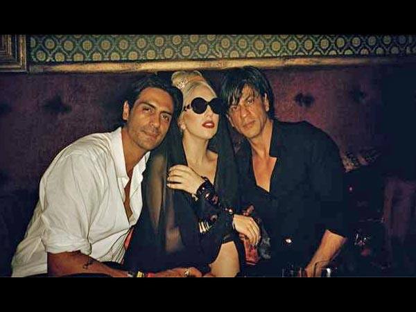 SRK With Lady Gaga